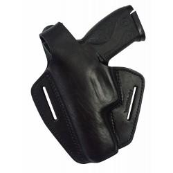 B2Li Leder Gürtel Holster für S&W M&P9 schwarz für Linkshänder