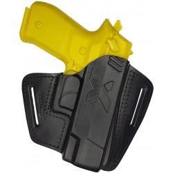U16 Leder Holster für Walther Creed schwarz VlaMiTex