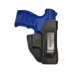IWB 8 Leder Holster für Walther CCP schwarz