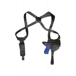 S17 Leder Schulterholster für Heckler und Koch P30 Schwarz VlaMiTex