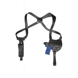 S3 Leder Schulterholster für Sig Pro 2022 Schwarz VlaMiTex