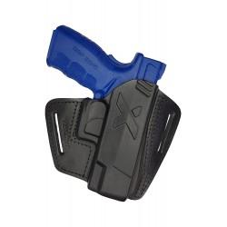U16 Pistolera de cuero para SPRINGFIELD XD negro VlaMiTex
