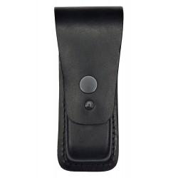 M1 Magazintasche aus Leder schwarz für Doppelreihige Magazine 9mm .38 .40 cal VlaMiTex
