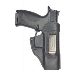 IWB 4 Leder Holster für Smith & Wesson M&P40 VlaMiTex