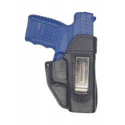 IWB 8 Leder Holster für Walther PPS schwarz VlaMiTex