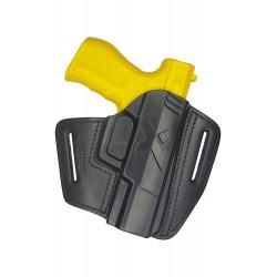 U5 Leder Gürtel Holster für FMK 9C1 schwarz VlaMiTex