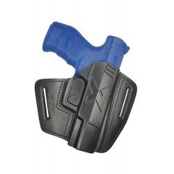 U5 Pistolera de cuero para Walther PPQ negro VlaMiTex