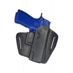U16 Leder Holster für Sig Sauer P320 Carry schwarz VlaMiTex