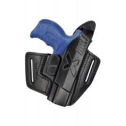 B6 Leder Holster für Walther P22Q schwarz VlaMiTex