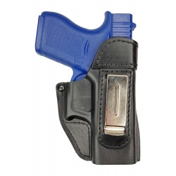 IWB 2 Leder Holster für Glock 43 VlaMiTex
