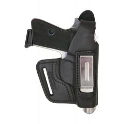 IWB 5-5 Leder Holster für Walther PP Manurhin Verdeckte / Versteckte Trageweise VlaMiTex