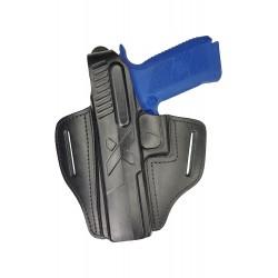 B25Li Leder Holster für CZ P-09 Linkshänder VlaMiTex