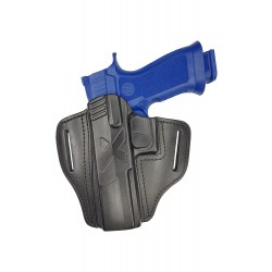 U25Li Leder Holster für Sig Sauer P320 X-Five Linkshänder VlaMiTex