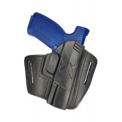 U5 Leder Holster für Caracal EF schwarz VlaMiTex