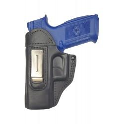 IWB 3Li Leder Holster für FN FNS-40 für Linkshänder VlaMiTex