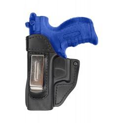 IWB 2Li Leder Holster für Walther P22 für LinkshänderVlaMiTex